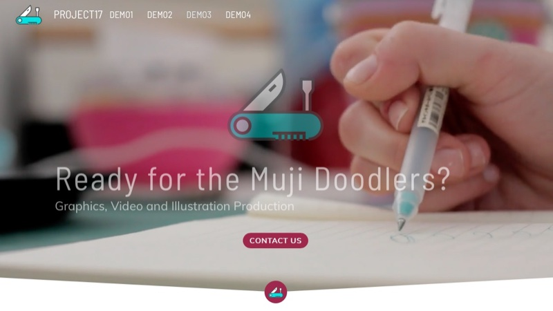 Webdeersign Project Screenshots